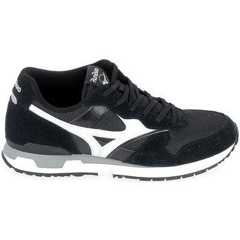Schuhe Sneaker Low Mizuno Genova Noir Schwarz