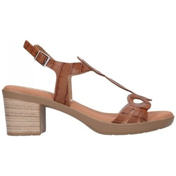 Schuhe Damen Sandalen / Sandaletten Oh My Sandals For Rin OH MY SANDALS 4655 BREDA ROBLE Mujer Cuero marron
