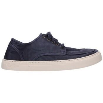 Schuhe Herren Sneaker Low Natural World 6604E 677 Hombre Azul marino bleu
