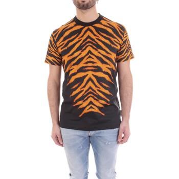 Kleidung Herren T-Shirts Versace B3GVB7DF-30377 schwarz