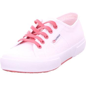 Schuhe Damen Sneaker Low Superga Cotcontrastu weiß