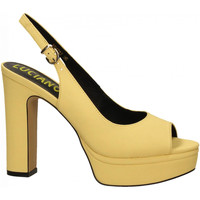 Schuhe Damen Sandalen / Sandaletten Luciano Barachini BOTTALATO giallo