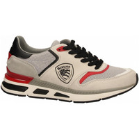 Schuhe Herren Sneaker Low Blauer HILO01 white-black-red