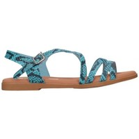 Schuhe Damen Sandalen / Sandaletten Oh My Sandals For Rin OH MY SANDALS 4640 TODO REPTILE CARIBE Mujer Azul bleu