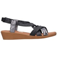 Schuhe Damen Sandalen / Sandaletten Oh My Sandals For Rin OH MY SANDALS 4670 AREN NEGRO COMBI Mujer Negro noir