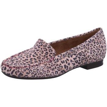 Schuhe Damen Slipper Sioux Slipper Zalla 64656 animal