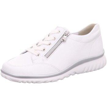 Schuhe Damen Derby-Schuhe & Richelieu Semler Schnuerschuhe L5035-011-010-Lena weiß