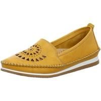 Schuhe Damen Slipper Andrea Conti Slipper Slipper in Senf 1889602-116 gelb