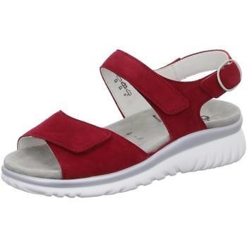 Schuhe Damen Sandalen / Sandaletten Semler Sandaletten Laura L7015 042 066 rot