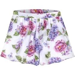 Kleidung Mädchen Shorts / Bermudas Mayoral Falda pantalon gasa estampada mehrfarbig