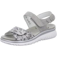 Schuhe Damen Sandalen / Sandaletten Semler Sandaletten L7015367/015 015 grau