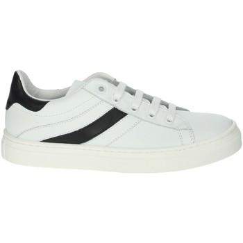 Schuhe Jungen Sneaker Low A.r.w. 6426AR Weiss/Schwarz