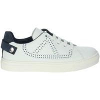 Schuhe Jungen Sneaker Low A.r.w. 6148VSAR Weiss/Blau
