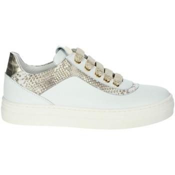 Schuhe Mädchen Sneaker Low Le Petit Bijou 6430LPB Weiss/Gold