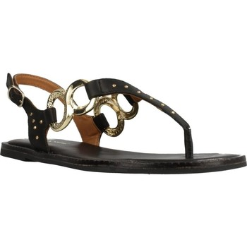 Schuhe Damen Sandalen / Sandaletten Alpe 4706 20 Schwarz