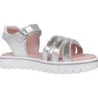 Schuhe Mädchen Sandalen / Sandaletten Garvalin 202652 Silber