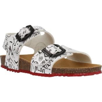 Schuhe Jungen Sandalen / Sandaletten Garvalin 202472 Weiß