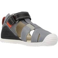 Schuhe Jungen Sandalen / Sandaletten Biomecanics 202136 Grau