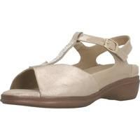 Schuhe Damen Sandalen / Sandaletten Piesanto 200407 Beige