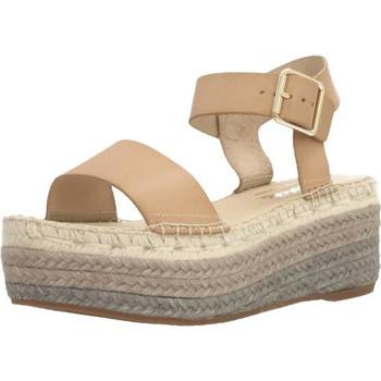 Schuhe Damen Leinen-Pantoletten mit gefloch Vidorreta 39600VTN3 Brown
