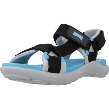Schuhe Jungen Sportliche Sandalen Camper K800360 Schwarz