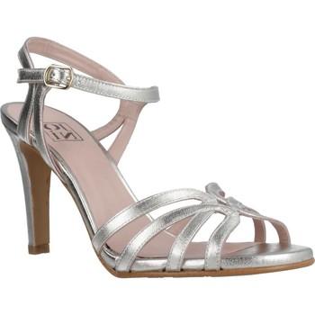 Schuhe Damen Sandalen / Sandaletten Joni 18155J Silber
