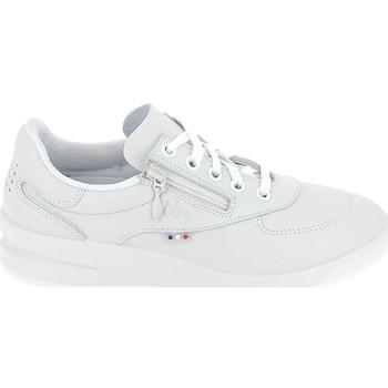 Schuhe Damen Sneaker Low TBS Branzip Blanc Weiss