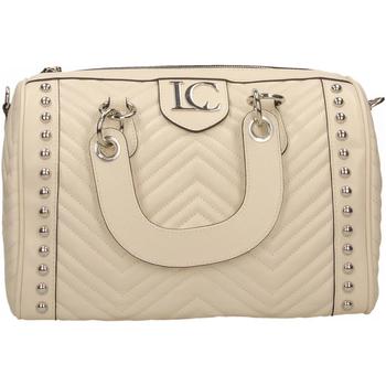 Taschen Damen Handtasche La Carrie STICH&SPUN MEGAN bianco
