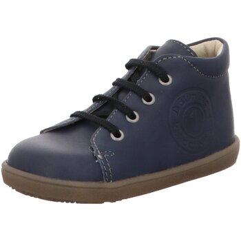 Schuhe Jungen Boots Däumling Schnuerschuhe Pauline 040014M 36 blau