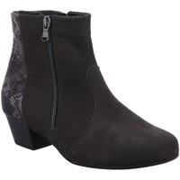 Schuhe Damen Low Boots Waldläufer Stiefeletten Käthe 670805-200/052 052 grau