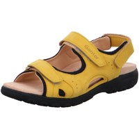 Schuhe Damen Sportliche Sandalen Ganter Sandaletten Sandalette HAPPY 205912-8400 gelb