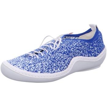 Schuhe Damen Sneaker Low Think Schnuerschuhe Kapsl 0-686067-9100 86067-91 blau