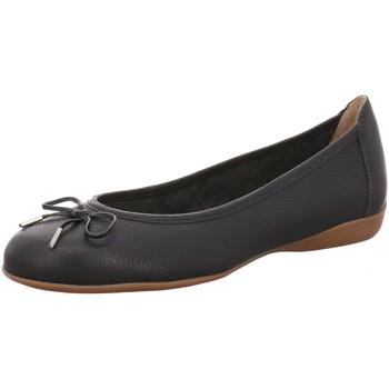 Schuhe Damen Ballerinas Wirth Halbschuh,preto 6536 blau