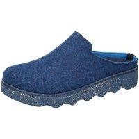 Schuhe Damen Hausschuhe Rohde 6120/54 blau