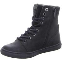 Schuhe Jungen Boots Bullboxer High AFTE6L503-BLCK schwarz