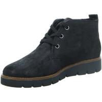 Schuhe Damen Boots Longo Stiefeletten Beq.Schnür/Schlupstf 1012966 schwarz
