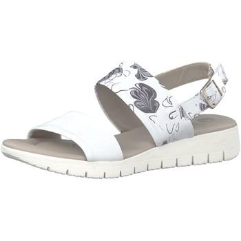 Schuhe Damen Sandalen / Sandaletten Jana Sandaletten Be Natural 88 28640 20 297 grau