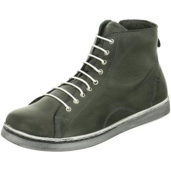 Schuhe Damen Boots Andrea Conti Stiefeletten 0341500 261 schiefer grau