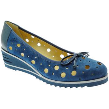 Schuhe Damen Ballerinas Donna Soft DOSODS0770bl blu