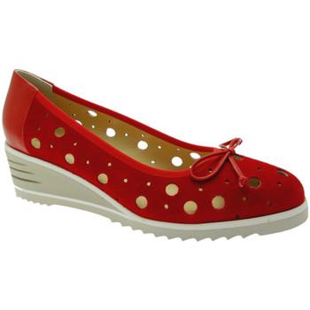 Schuhe Damen Ballerinas Donna Soft DOSODS0770ro rosso
