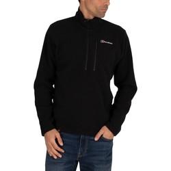 Kleidung Herren Sweatshirts Berghaus Polartec Micro Sweatshirt mit halbem Reißverschluss schwarz