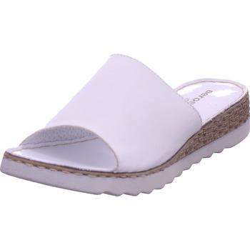 Schuhe Damen Pantoffel Aeros Marina weiß
