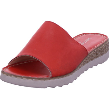 Schuhe Damen Pantoffel Aeros Marina rot