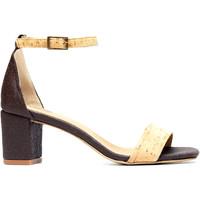 Schuhe Damen Sandalen / Sandaletten Nae Vegan Shoes Margot Pinatex Braun