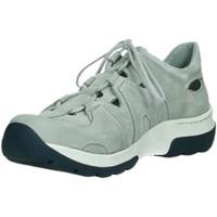 Schuhe Damen Sneaker Low Wolky Schnuerschuhe SCHNÜRER 0302811 206 grau