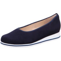 Schuhe Damen Ballerinas Hassia Slipper 9-301502-3200 blau