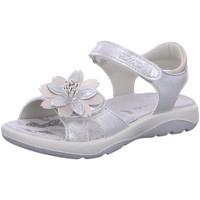 Schuhe Mädchen Sandalen / Sandaletten Lurchi Schuhe 33-18725-49 33-18725-49 49 silber