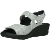 Schuhe Damen Sandalen / Sandaletten Wolky Sandaletten 0312548150 grau