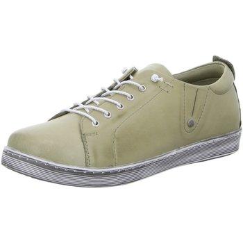 Schuhe Damen Sneaker Low Andrea Conti Schnuerschuhe D.Halbschuhe 0347891-046 khaki grün