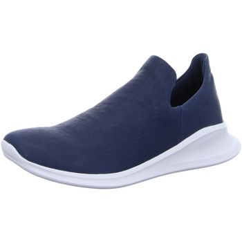 Schuhe Damen Slip on Think Slipper 6-86085-89 blau
